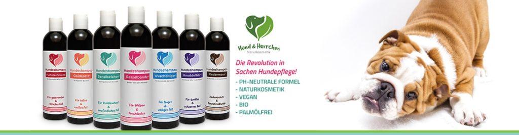 *NEU* Vegane Pflegeprodukte von Hund & Herrchen im Sortiment